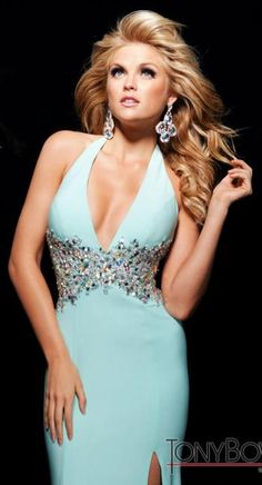 #prom #allure #dress #blue @Terry Song Costa #tonybowls #prom #dresses