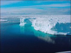 Lake Vostok under Antarctica that is 25 million years old. Learned about this in Microbiology. This lake is full of life!! Micro-organisms