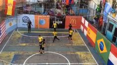 World's Best Street Soccer Players Face Off in Rio