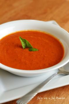 Tomato Basil Soup and Grilled Mozzarella Sandwiches - Life In The Lofthouse