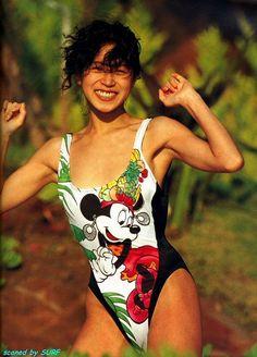 One Piece Swimwear, One Piece Swimsuit, Sexy Hot Girls, Cute Girls, Funny Sexy, Instagram Girls, Beautiful Asian Women, Fashion History, Japanese Girl