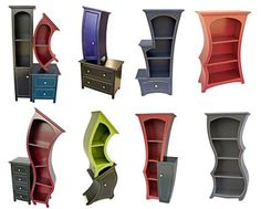 Stylish Innovative Surreal Storage for your Attractive Living room Decoration