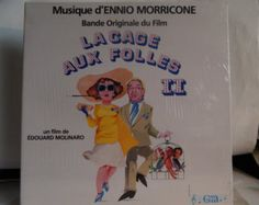 """CAGE AUX Folles II (1980, Ennio Morricone, French Import) Rare Mint 12"""" vinyl lp soundtrack. Great Front Cover Illustration; Early Gay pic - Edit Listing - Etsy"""