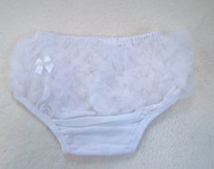 Baby Diaper Cover-Bloomers-Bloomer-White Diaper Cover-Baby Girl Clothes-Newborn Girl Clothes-Toddler-Baptism-Christmas Outfit-Christmas-SOFT