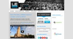 http://london.leweb.co/ 24 Awesome Web Design Conferences You Should Know