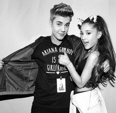 Justin Bieber and Ariana Grande manip