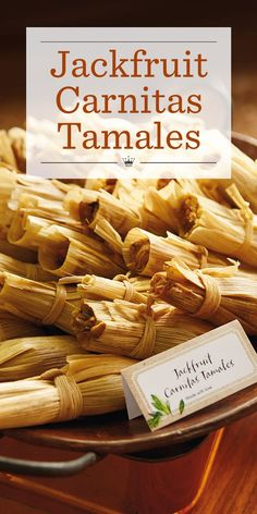 Our jackfruit tamales recipe offers authentic carnitas flavor the whole family will love. Serve with our easy Cilantro Pesto and Heirloom Pico de Gallo.