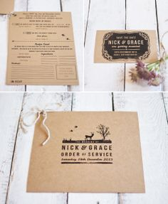 The Lovely Drawer: a winter wedding