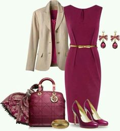 Old pink and camel
