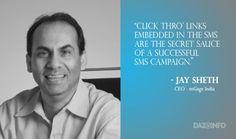 SMS Marketing Is Not Dead, It Has Just Become More Smart: Jay Sheth, CEO #whitedwarf #SMSMarketing #update #secretofSMSmarketing  Like Us : White Dwarf Media Pvt. Ltd. Visit: www.whitedwarf.in | Call : (022) 65655393