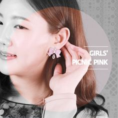 Girls' Picnic pink 어린 소녀들의 소풍 nocence of life is what Korean girls inspire.  Media : Crystals / ringpocket . 2014  http://ringpocket.com/item/CL0010-1