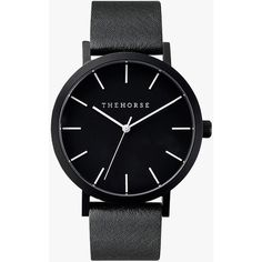 The Horse The Original Watch (7.335 RUB) ❤ liked on Polyvore featuring jewelry, watches, accessories, bracelets, montres, horse jewellery, buckle jewelry, leather jewelry, horse jewelry and leather strap watches