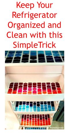 Keep your refrigerator clean and organized with this simple trick