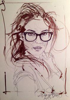 Illustration portrait Antoine stevens