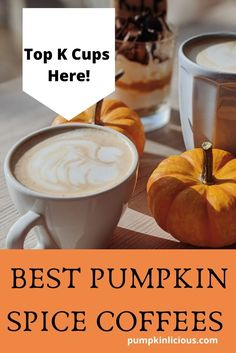 pumpkin spice coffee k cups reviewed here! What is the best pumpkin spice coffee on the market. #pumpkinspicecoffee Pumpkin Spice Coffee, Spiced Coffee, Pumpkin Drinks, Pumpkin Recipes, Pumpkin Growing, Coffee K Cups, Best Pumpkin, Milkshake, Smoothies