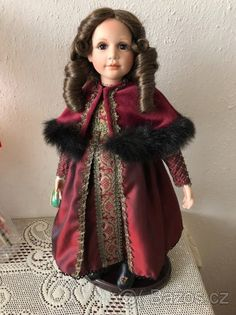 Porcelánová panenka od návrhářky Jane Zidjunas - 1