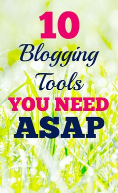 I wish I would have had the means to invest in these blogging tools much earlier on - they have been game changers for my blog and social media strategy!