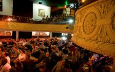 McMenamins Theater Pubs - cheap and fun, second-run movies.
