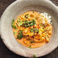 Kichererbsen-Curry mit Lauch, Steckrübe und Kohl Rezept | Küchengötter