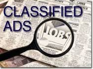 At Grabyy find the latest Classifieds, ads available online classifieds and affiliated newspaper classifieds. Search through local classified ads for home, jobs etc.