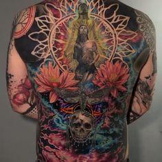 Cool Japanese Tiger Sleeve Tattoo – Best Japanese Tattoos For Men: Cool Japanese… - Body Art Best Tattoos For Women, Back Tattoos For Guys, Full Back Tattoos, Tattoos Arm Mann, Body Art Tattoos, Sleeve Tattoos, Men Tattoos, Blackout Tattoo, Realistic Tattoo Sleeve