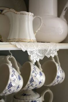 had these dishes for years when my kitchens were always blue and white