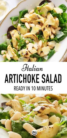 Artichoke Salad, Grilled Artichoke, Artichoke Recipes, Side Dish Recipes, Side Dishes, Dinner Recipes, Dinner Ideas, Main Dishes, Quinoa Dishes