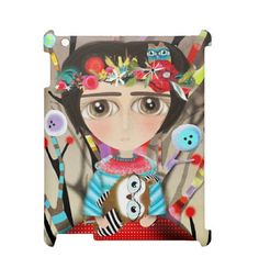 iPad 2/3/4  Rupydetequila #Art   #Doll Limited Edition by Rupydetequila on #Etsy