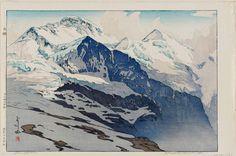 Hiroshi Yoshida ~ Jungfrau (Yungufurau-yama)