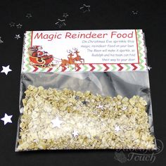 Santa christmas eve box personalised a5 size letter magic key to ensure that father christmas reindeer reach your children our magic reindeer food is an spiritdancerdesigns Image collections