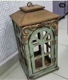 Decoupage Furniture, Decoupage Box, Shabby, Lanterns Decor, Craft Stick Crafts, Interior Design Living Room, Painting On Wood, Decorative Boxes, Lights