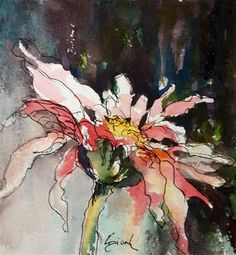 """Daily Paintworks - """"Former Selves"""" - Original Fine Art for Sale - © Sue Dion"""