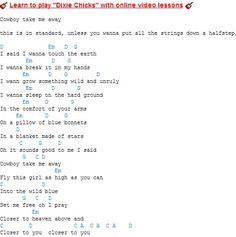Dixie Chicks chords / lyrics