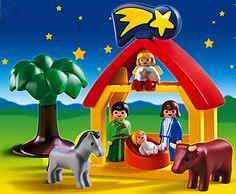 PLAYMOBIL 1-2-3 CHRISTMAS MANGER