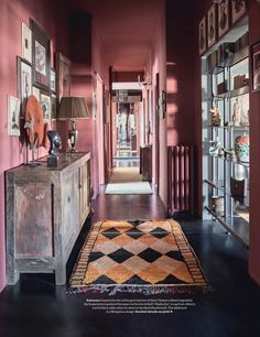 Love this Farrow & Ball Radicchio. Elle Decor UK