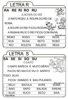 Facebook O, Portuguese Lessons, Homeschool, Language, Juliana Lima, Iris, Reading Activities, Class Activities, Preschool Literacy Activities