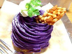 Mont Blanc Purple Sweet Potato