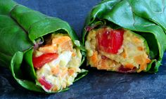 Swiss chard wraps! Super easy, super delicious and staring one of the powerhouses of the greens world, chart! Super easy to make, super nutritions to eat.