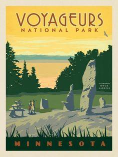 Anderson Design Group – American National Parks – Voyageurs National Park
