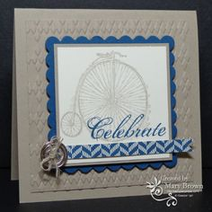SU! Feeling Sentimental stamp set; Comfort Cafe DSP; colors are Very Vanilla, Crumb Cake and Midnight Muse - Mary Brown