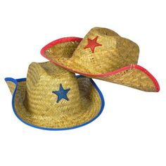 59560f01c980b Childs Straw Cowboy Hat With Plastic Star (1 Dozen) - BULK Toy Story  Birthday