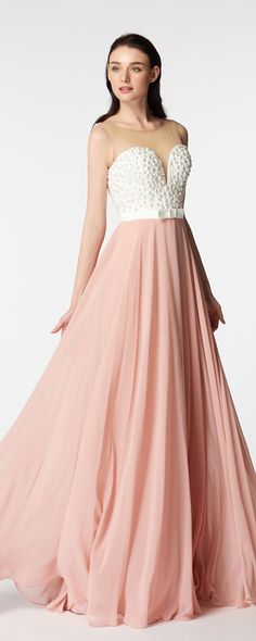 White Ball Gown Long Floral Prom Dresses Cap Sleeves | Pinterest ...