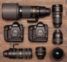Camera Nikon - Ideas That Produce Nice Photos No Matter Your Abilities! Best Nikon Camera, Nikon D5, Nikon Camera Lenses, Nikon Digital Camera, Camera Gear, Slr Camera, Nikon Cameras, Camera Hacks, Digital Cameras