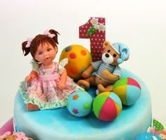 Torta detska na 1. rok