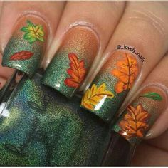 Fall nails via:Ig