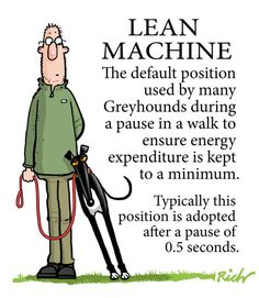 So speaking of leaning… By Richard Skipworth