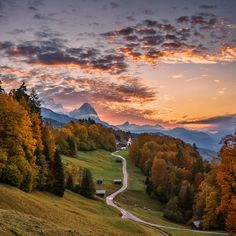 Bavarian Sunset by Achim Thomae http://flic.kr/p/RA9buB