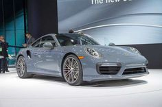2017 Porsche 911 Turbo S front three quarters - Provided by MotorTrend