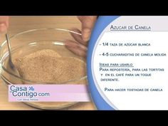 Azucar Canela, receta y elaboracion