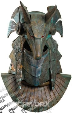 Lot #505: Anubis Helmet from Stargate by Propworx
